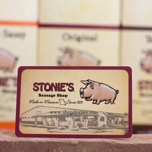 Stonie's Gift Card